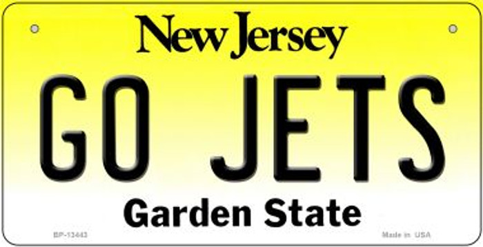 Go Jets Novelty Metal Bicycle Plate BP-13443