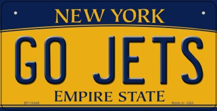 Go Jets Novelty Metal Bicycle Plate BP-13449