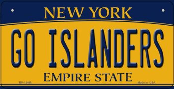 Go Islanders Novelty Metal Bicycle Plate BP-13465
