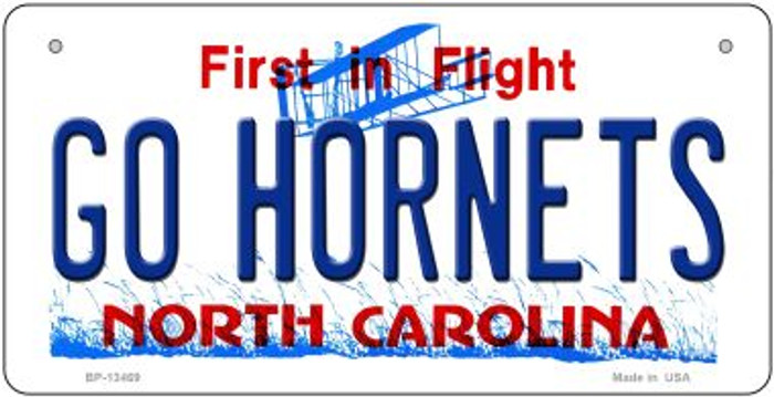 Hornets Fan Novelty Metal Bicycle Plate BP-13469