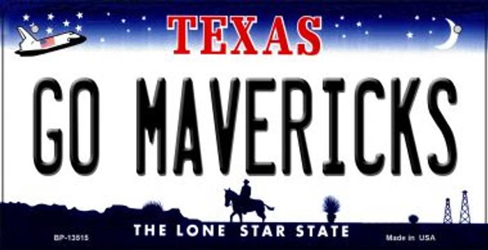 Go Mavericks Novelty Metal Bicycle Plate BP-13515