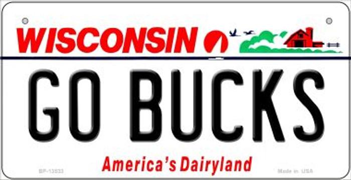 Go Bucks Novelty Metal Bicycle Plate BP-13533
