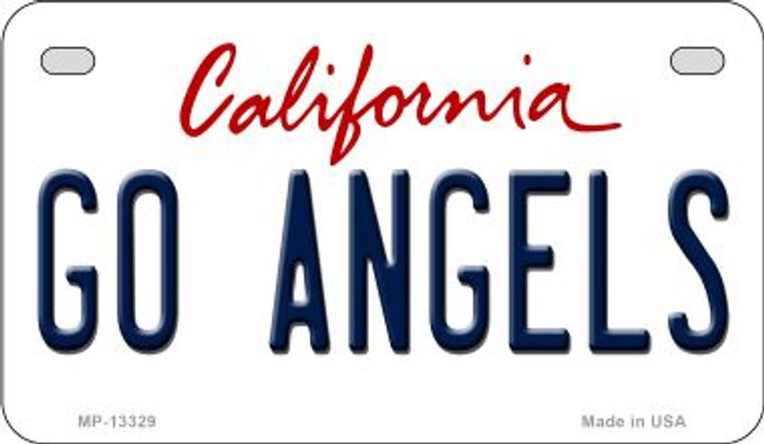 Go Angels Novelty Metal Motorcycle Plate MP-13329