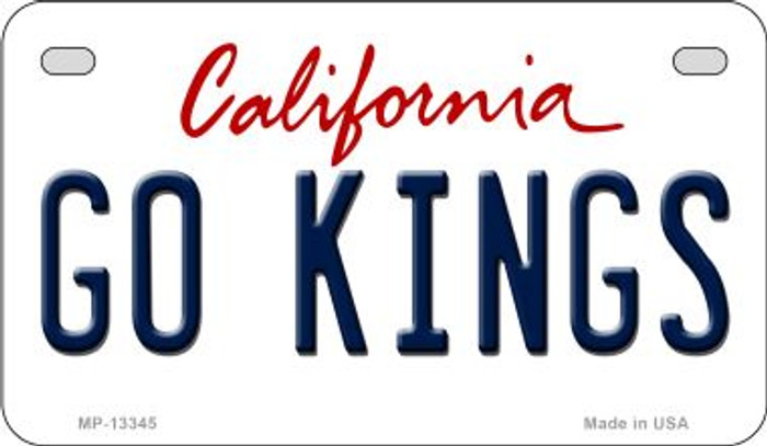 Go Kings Novelty Metal Motorcycle Plate MP-13345