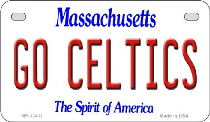 Go Celtics Novelty Metal Motorcycle Plate MP-13411