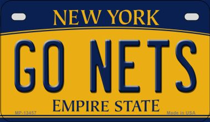 Go Nets Novelty Metal Motorcycle Plate MP-13457