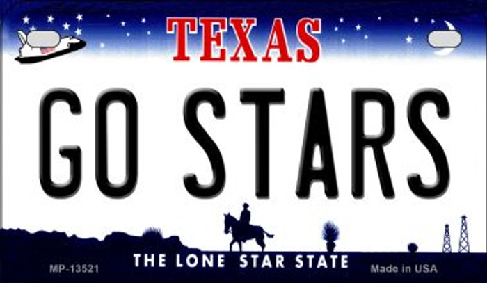 Go Stars Novelty Metal Motorcycle Plate MP-13521