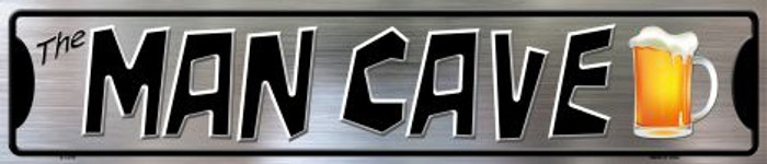 The Man Cave Metal Novelty Street Sign