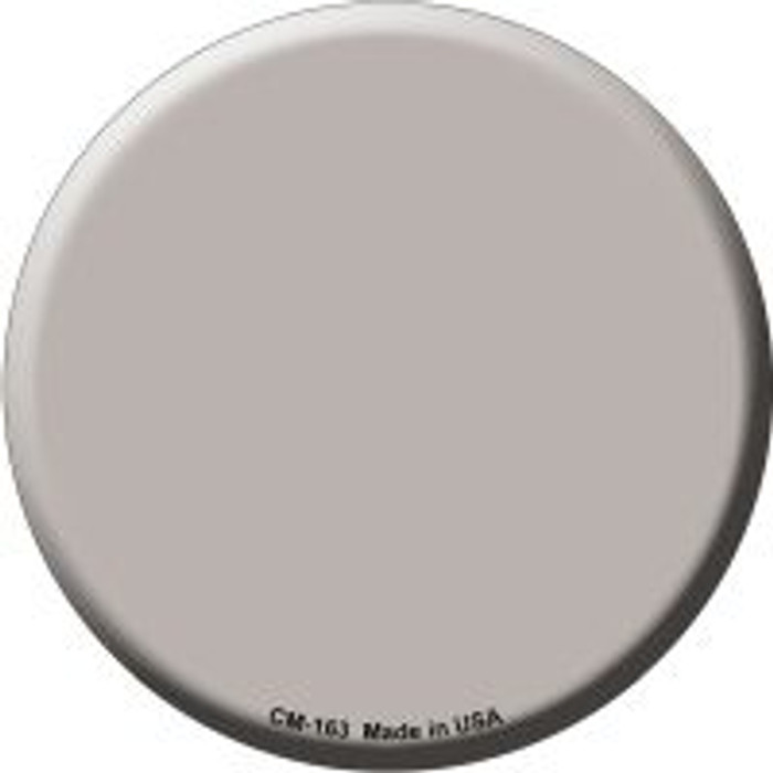 Tan Novelty Metal Mini Circle Magnet CM-163