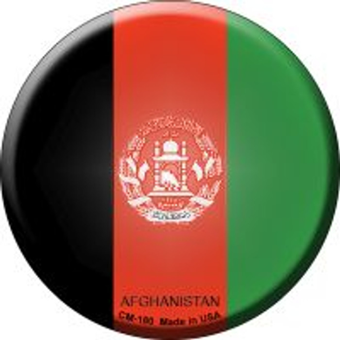 Afghanistan Country Novelty Metal Mini Circle Magnet CM-180