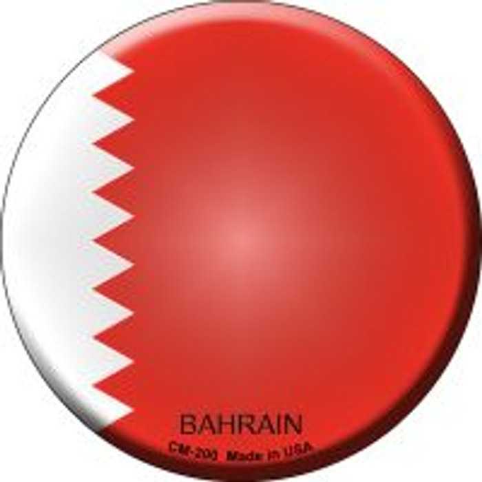 Bahrain Country Novelty Metal Mini Circle Magnet CM-200