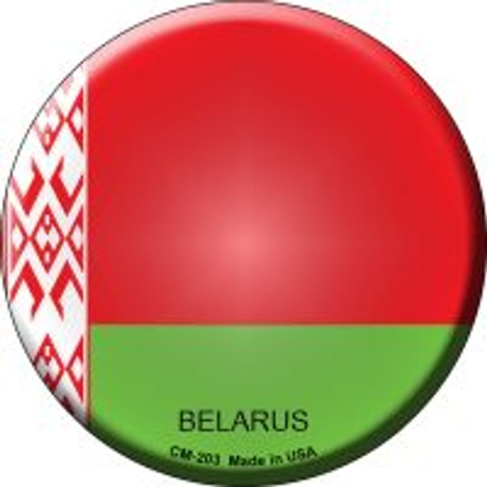 Belarus Country Novelty Metal Mini Circle Magnet CM-203
