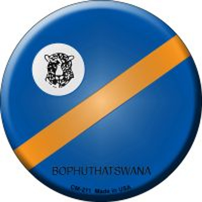 Bophuthatswana Country Novelty Metal Mini Circle Magnet CM-211