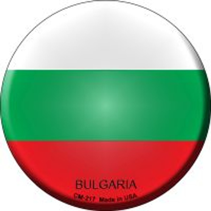 Bulgaria Country Novelty Metal Mini Circle Magnet CM-217