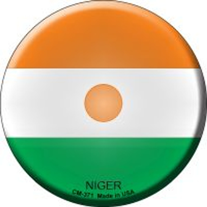 Niger Country Novelty Metal Mini Circle Magnet CM-371