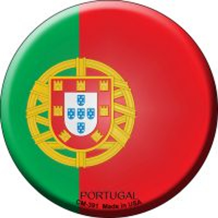 Portugal Country Novelty Metal Mini Circle Magnet CM-391