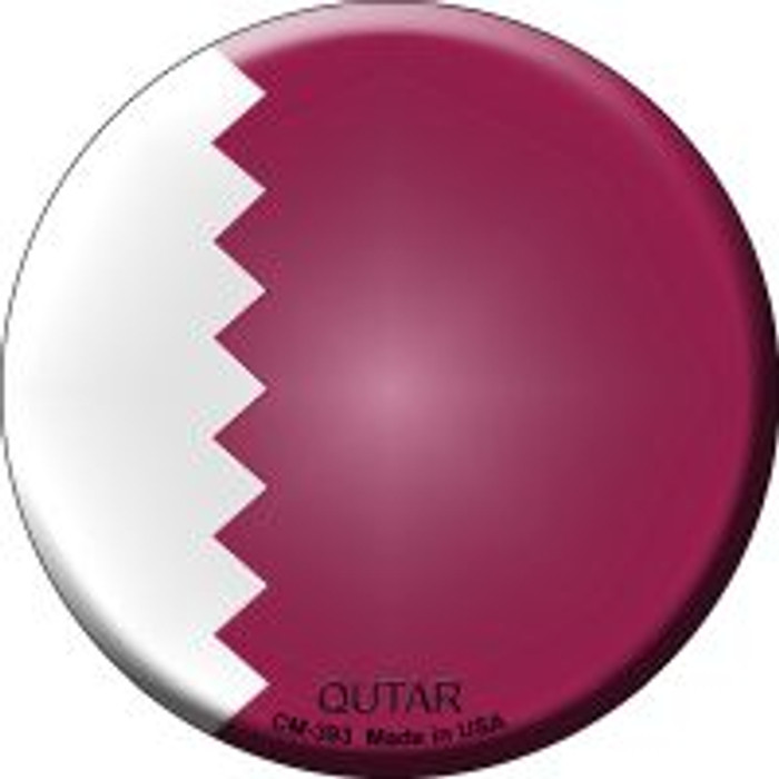 Qutar Country Novelty Metal Mini Circle Magnet CM-393