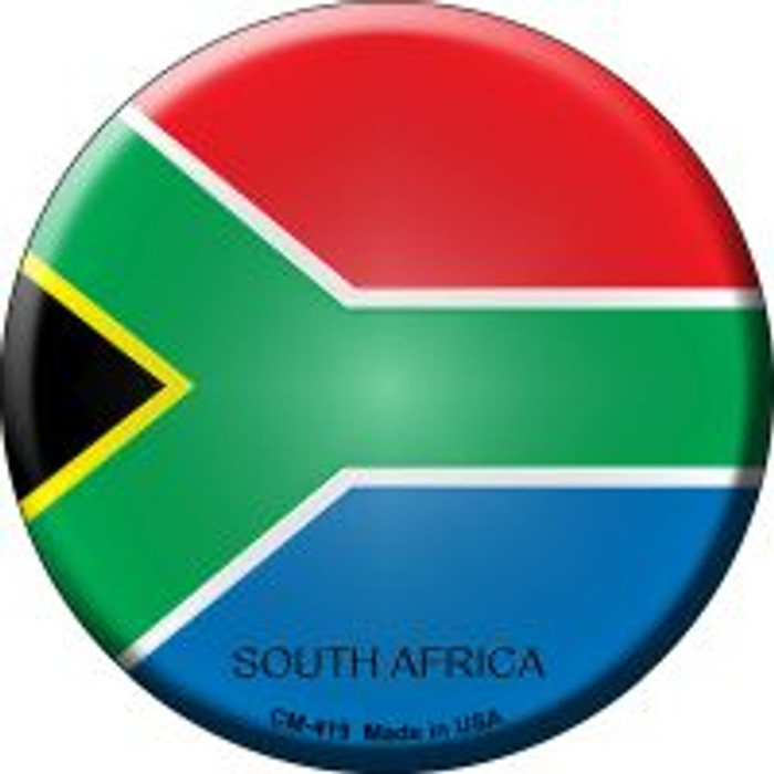 South Africa Country Novelty Metal Mini Circle Magnet CM-419