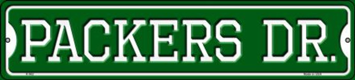 Packers Dr Novelty Small Metal Street Sign K-962