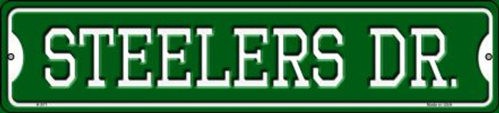 Steelers Dr Novelty Small Metal Street Sign K-971