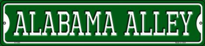 Alabama Alley Novelty Small Metal Street Sign K-1066