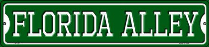 Florida Alley Novelty Small Metal Street Sign K-1071