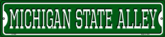 Michigan State Alley Novelty Small Metal Street Sign K-1082