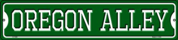 Oregon Alley Novelty Small Metal Street Sign K-1089