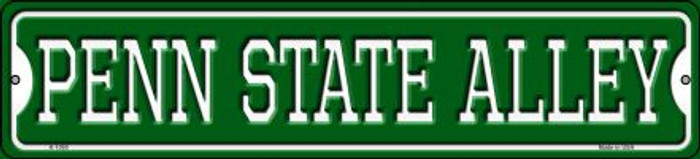 Penn State Alley Novelty Small Metal Street Sign K-1090
