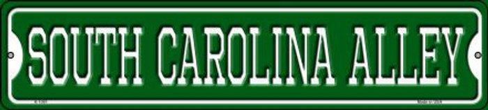 South Carolina Alley Novelty Small Metal Street Sign K-1091