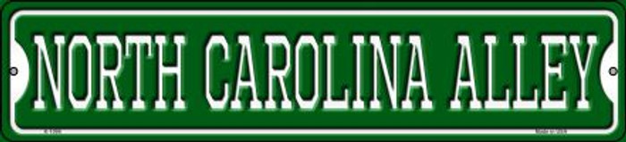 North Carolina Alley Novelty Small Metal Street Sign K-1096