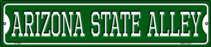 Arizona State Alley Novelty Small Metal Street Sign K-1099