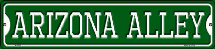 Arizona Alley Novelty Small Metal Street Sign K-1100