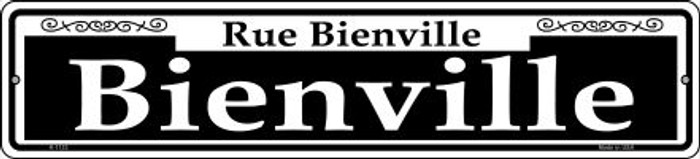 Bienville Novelty Small Metal Street Sign K-1123