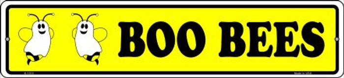 Boo Bees Novelty Small Metal Street Sign K-1310