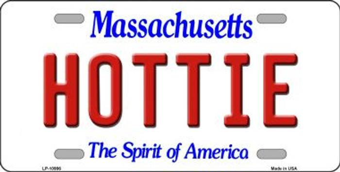 Hottie Massachusetts Novelty Metal Vanity License Plate Tag LP-10996