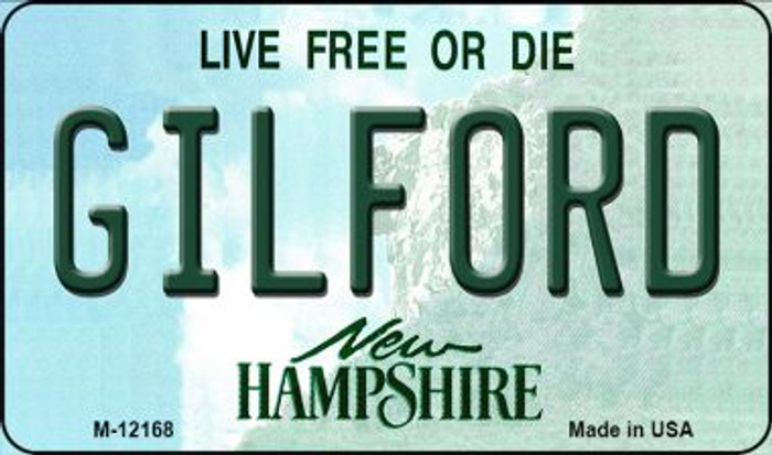 Gilford New Hampshire Novelty Metal Magnet M-12168