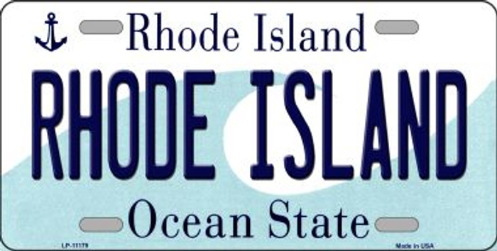 Rhode Island Novelty Metal Vanity License Plate Tag LP-11179