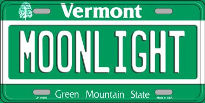 Moonlight Vermont Novelty Metal Vanity License Plate Tag LP-10695