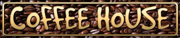 Coffee House Novelty Metal Street Sign ST-498