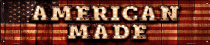 American Made Novelty Metal Street Sign ST-846