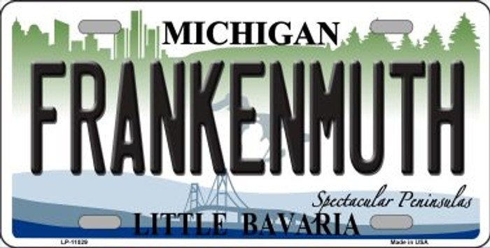 Frankenmuth Michigan Novelty Metal License Plate Tag LP-11029