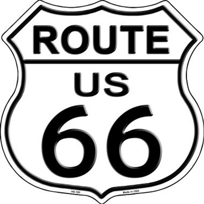 Route 66 Highway Shield Metal Sign HS-100