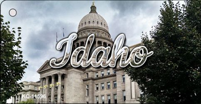 Idaho Capital Building Novelty Metal Key Chain KC-11596