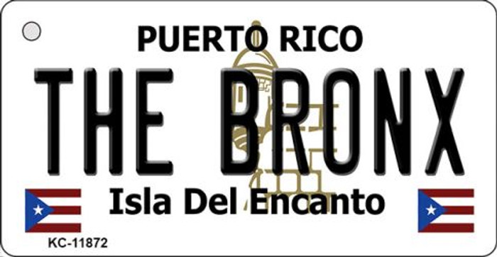 The Bronx Puerto Rico Novelty Metal Key Chain KC-11872