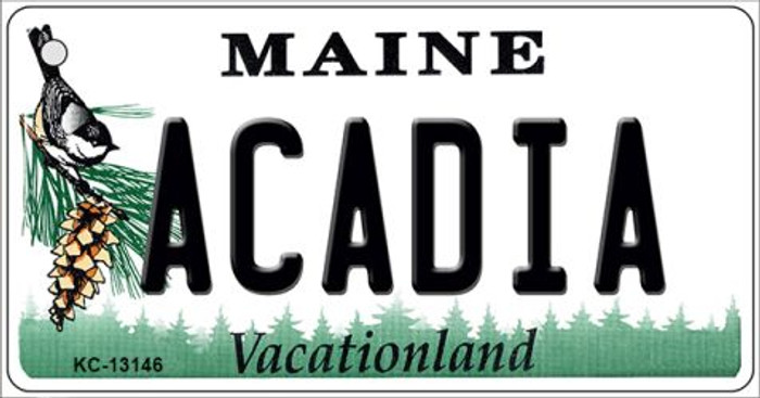 Acadia Maine Novelty Metal Key Chain KC-13146