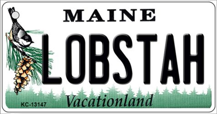 Lobstah Maine Novelty Metal Key Chain KC-13147