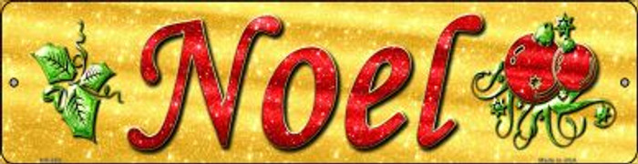 Noel Novelty Mini Metal Street Sign MK-653