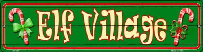 Elf Village Novelty Mini Metal Street Sign MK-657