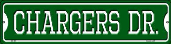 Chargers Dr Novelty Mini Metal Street Sign MK-951